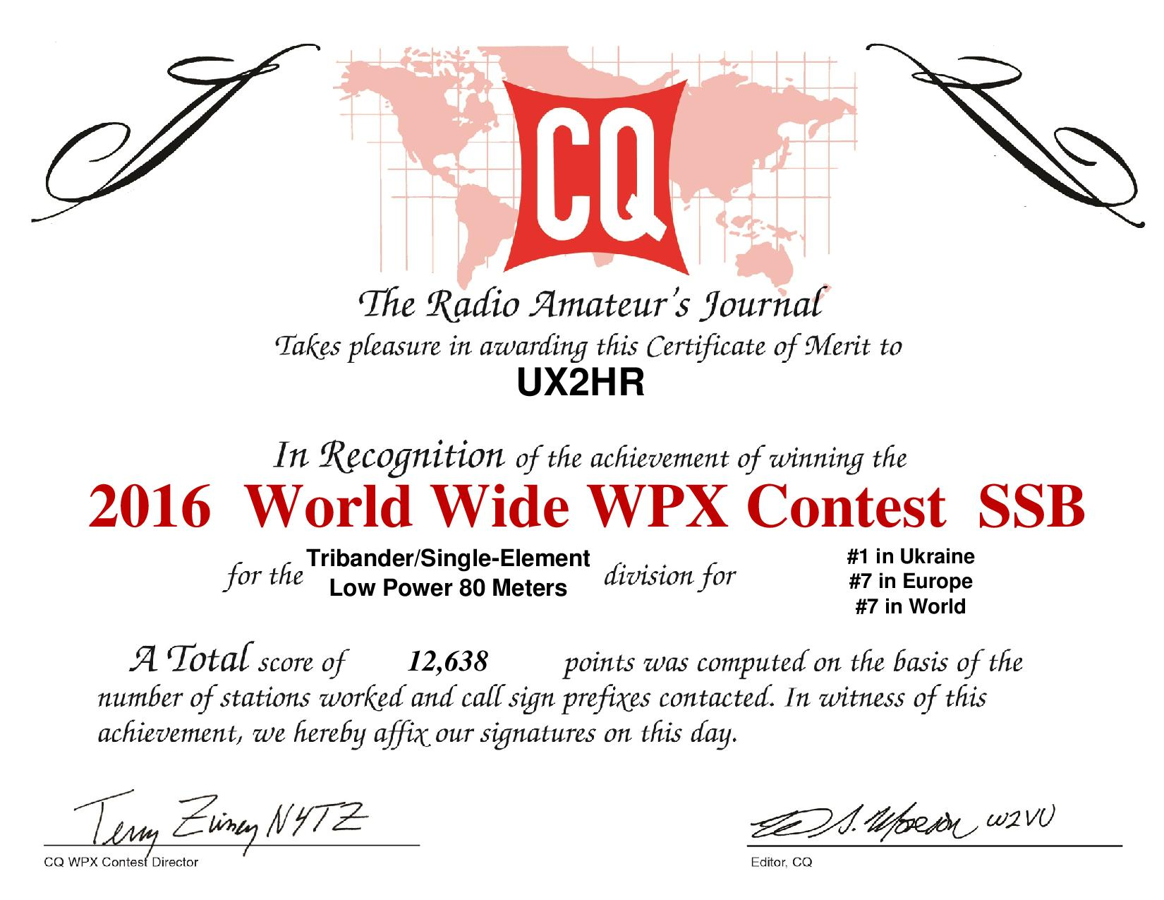 UX2HR 2016SSB Overlay WPXcertificate page 001